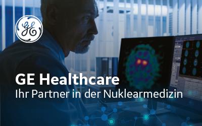 Banner GEHC – Ihr Partner in der Nuklearmedizin (72dpi, 400x250pix) #2 A